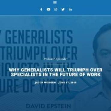 Why Generalists Will Triumph Over Specialists in The Future of Work